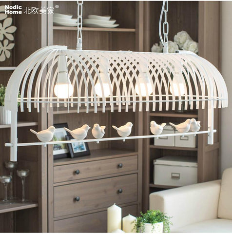 Nordic Modern Aisle Crystal Ceiling Chandelier Light Sweet Little Girl Chandeliers Lamp Lighting For Living Rooms Kids Room