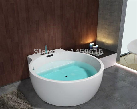 $3655.17- 63' Sea Whirlpool Bathtub Acrylic Abs Composite Board Piscine Massage Hot Tub W8005