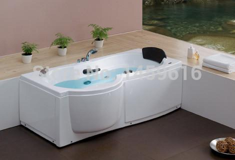 $2089.40- 67' Sea Left Or Right Head Rest Whirlpool Bathtub Acrylic Unique Design Piscine Massage Hot Tub W4005