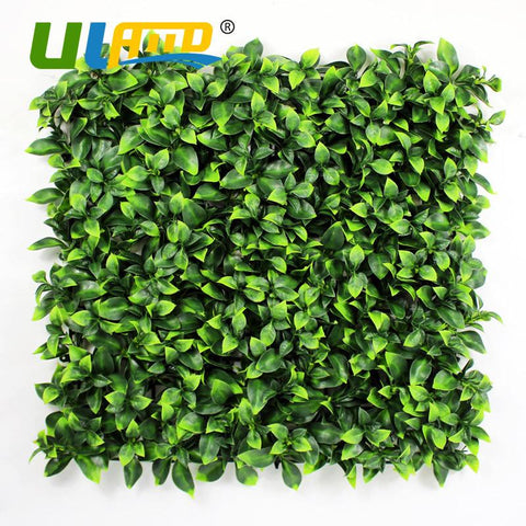 12 Pieces 50cm x 50cm Artificial Faux Ivy Leaf Hedge Panel Patio Balcony Privacy Fence Screen Decoration Panels