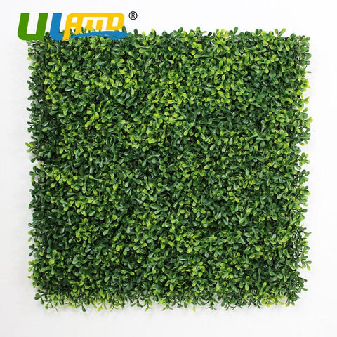 12 Pieces 50x50cm Artificial Boxwood Hedges Panels Outdoor Decorative UV Proof Fake Ivy Fence Bush Fence Screening