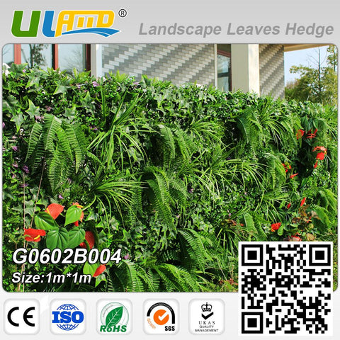 $232.41- Uland 2 Sqm Artificial Ivy Plastic Garden Fence Hedge For Garden Decoration Faux Privacy Screen Artificial Plants Fencing