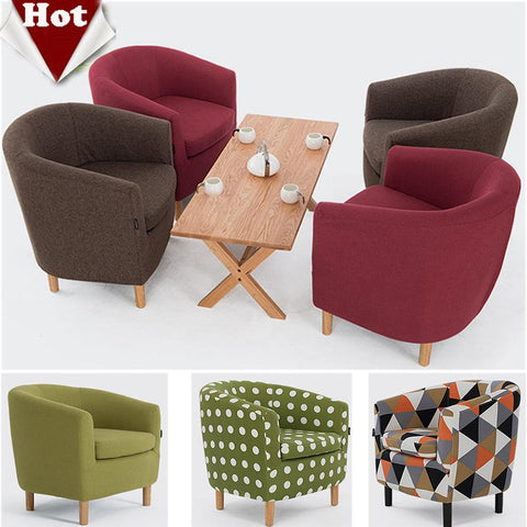 Wood Living Room Sofaleisure Cloth Sofa Red Green Brown Sofa Set Living Room Furniture Modern Chinese Furniture