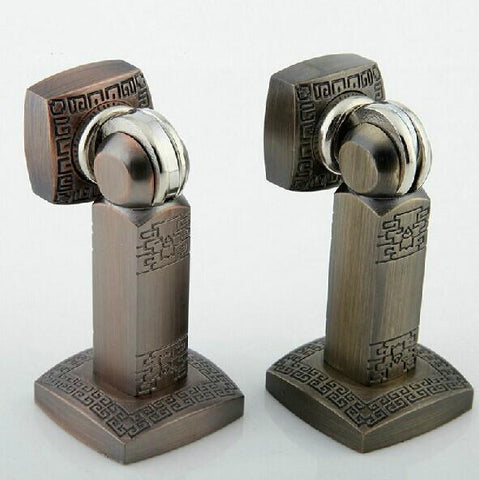 $54.00- Fashion Europe Style Zinc Alloy Antique Door Stopper Classical Door Stops Strong Magnetism Md21