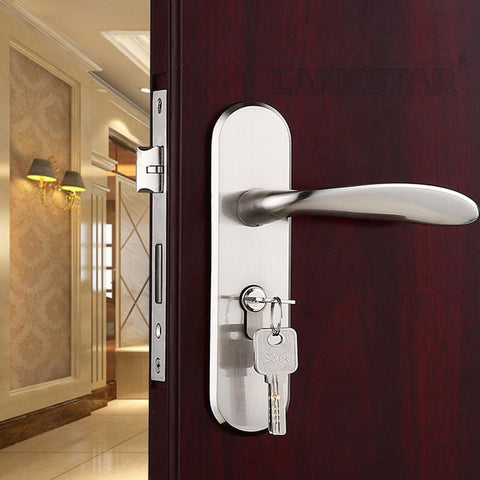 $75.83- s ing Big Lock Double LockTongues 50 LockBody Door Locker Zinc Alloy Y Style Handle Locks