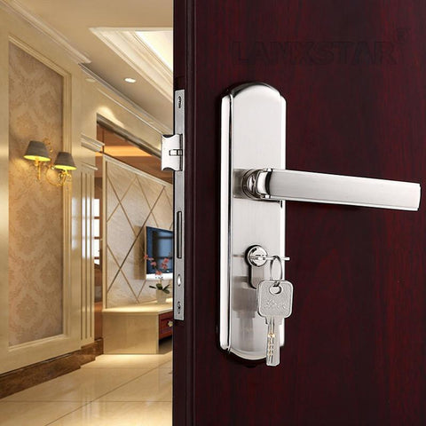 $80.78- Sufficient Supply 50 Double Axle Lock Body Door Lock Zinc Alloy Handle Industry Brand Handles Locks