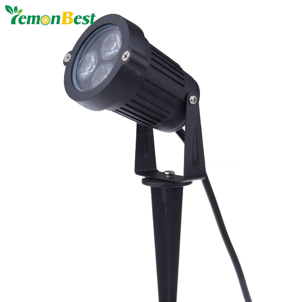$16.12- 85265V Mini Style Led Lawn Lamps 9W Garden Outdoor Lighting Waterproof Ip65 Flood Spot Light Bulbs Floodlighting Lawn Lights