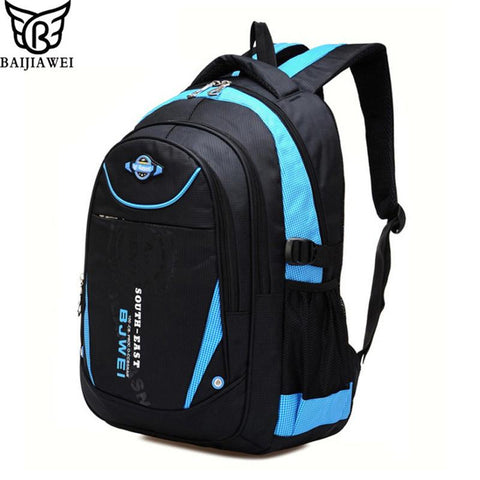 $34.18- Baijiawei New Children School Bags For Girls Boys Children Backpack In Primary School Backpacks Mochila Infantil Zip