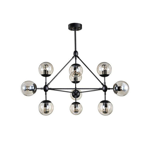 $152.98- Modern magic beans DNA Lustres pendant light industrial Modo Jason miller lamps Nordic Art Deco glass ball MOD hanging lighting