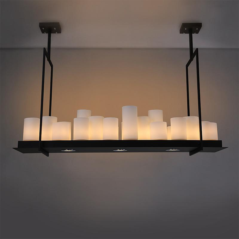 Altar Pendant Lights For Dining Living Room Villa Industrial Candle Hanging  Pendant Lamp Shipping