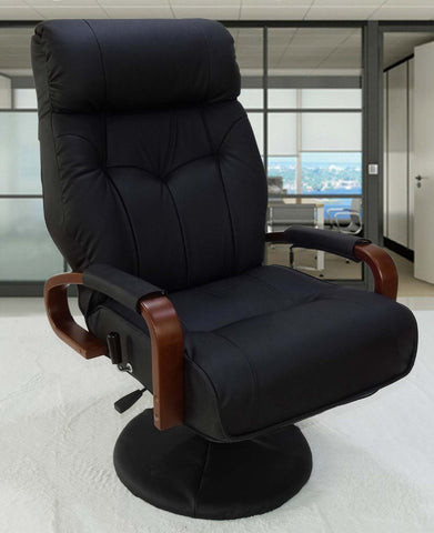 $419.10- Living Room Sofa Armchair 360 Swivel Lift Chair Recliners for Elderly Modern Multifunctional Foldable Home Office Leather Chair