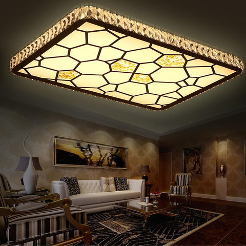 2016 Warm Home Decoration Led Ceiling Lights Hotel Hall Bedroom Glass Lamp Pendente De Teto Fixture Lighting For Wedding Lamp