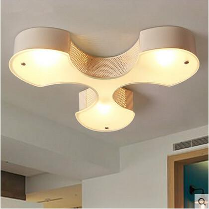 Acrylic Modern LED Ceiling Light E27*3 Indoor Lightings Fixtures For Home Living Hallway Lamparas Lustres De Sala Teto Techo