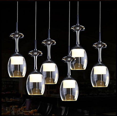 $40.43- Modern Creative Crystal Ceiling Lamps Led Lamps Living Room Dining Room Glass Ceiling Lamp Led Lustre Light Ceiling Lights