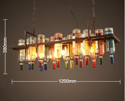Buy loft creative wine bottle pendant light restaurant bar cafe 52349 loft creative wine bottle pendant light restaurant bar cafe pendant lamp decorative personality bar mozeypictures Image collections