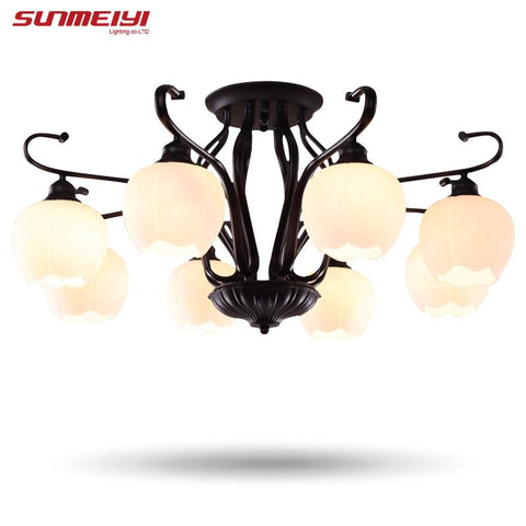 $142.63- Modern Brief Led Ceiling Light Creative Black Ceiling Lamp Vintage Luminaria Teto Pendant Ceiling Kids Bedroom Lighting Fixture