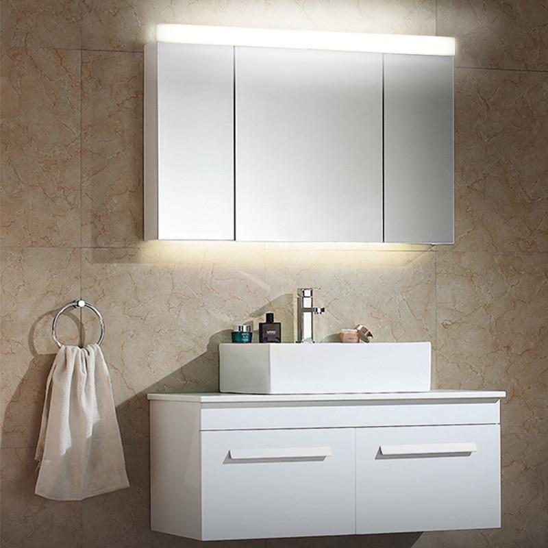 59 79 89 119Cm Ac100 240V Led Mirror Light Bathroom Cabinet Fixture Wall Mounted Make Up Lamp Acrylic Vanity Lighting