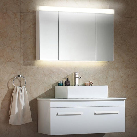 59/79/89/119cm AC100-240V LED Mirror Light Bathroom Cabinet Light Fixture Wall Mounted Make up Lamp Acrylic Vanity Lighting