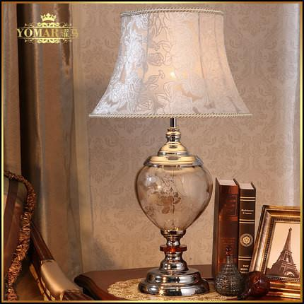 $279.02- Abajur Para Quarto Fashion Modern Bedside Lamp Luxury Crystal Table Lamp Bedroom Decor Lighting Kerosene Lamp Europe Style