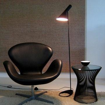 $230.04- PostModern Design Floor Lights Fixture Modern Loft Floor Lamp Black/White Metal Stand Light For Living Room/Bedroom/Office