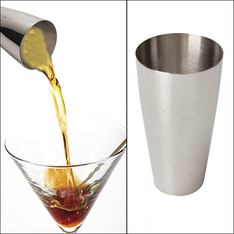 $14.17- 750Ml Cocktail Shaker Stainless Steel Drink Wine Mixing Container Cup Flair Bartending Bar Cocktail Shaker Tool
