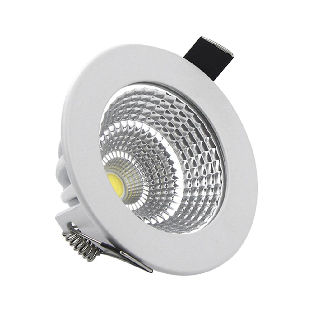 Recessed light fixtures icon2 designer home fixtures elements dimmable led recessed cob downlight 5w 7w 9w 12w 15w 18w dimming led spot light led ceiling lamp whitewarm white ac85 265v mozeypictures Choice Image