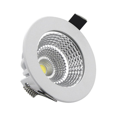 [Dbf] Patent Product Dimmable Led Recessed Downlight 5W 7W 9W 12W 15W/18W Cob Chip Led Ceiling Spot Light Lamp White/ Warm White