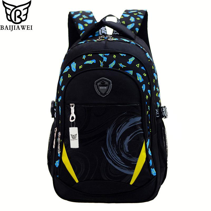 $43.68- Baijiawei New Children School Bag Alleviate Burdens Unisex Kids Backpack Casual Bags Backpacks For Teenage School Bag