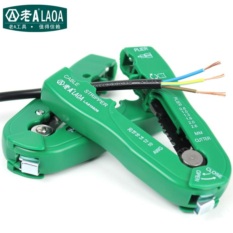 Buy Laoa Brand MultiFunctional Wire Stripper Portable Handheld ...