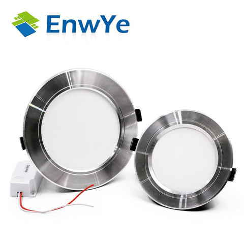 Enwye 4Pcs/Lot Led Downlight Ceiling Lamp Light 5730Smd 10W 15W 20W Warm White/Cold White 110V 220V