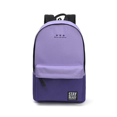 $30.80- Fashion School Backpack Women Children Schoolbag Back Pack Leisure Korean Ladies Knapsack Laptop Travel Bags For Teenage Girls
