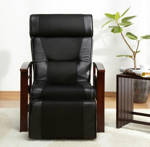 $591.80- Height Adjustable Leather Recliner W/ Pull Out Stool Living Room Modern Reclining Sofa Chair Armchair Furniture For Elderly