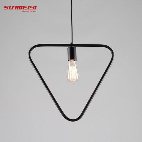 $50.15- Nordic Style Pendant Lighting Home Decoration Modern Minimalist Hanging Lights Art Fixtures Ambilight Wrought Iron Lamp Lampara