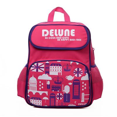 $87.86- Delune Brand Kids Cartoon School Bags Children Orthopedic School Backpacks For Girls Boys School Bags For 13 Grade Studets