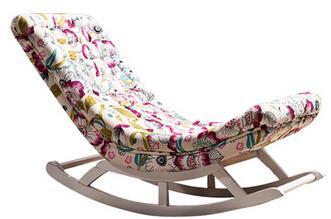 $880.00- The Lazy Sofa.. Solid Wood Rocking Chair.. Nap Deck Chair.. Deck Chair
