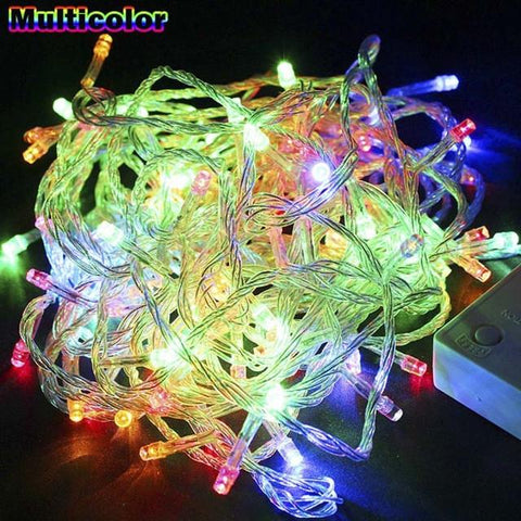 $7.51- Xtf 10M/20M Led String Light Waterproof Holiday Christmas Wedding Garden Party Decoration String Light