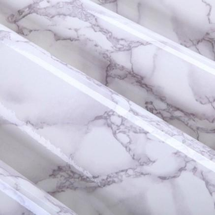 $30.78- 0.6X3M Pvc Marble Self Adhesive Wallpaper Furniture Tiles Kitchen Backsplash Vinyl Decorative Wall Sticker Home Decor Wall Paper