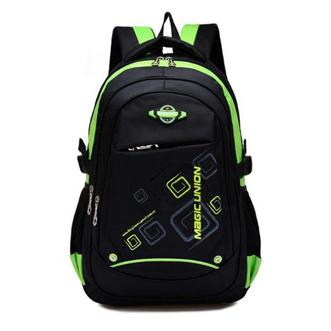 Magic Union Children School Bags High Quality Nylon Backpacks Lighten Burden On Shoulder For Kids Backpack Mochila Infantil Zip