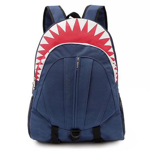 $30.58- Baijiawei Hot 3D Cartoon Shark Shape Kids School Bags For Boys Girls Backpacks Primary Students Backpack Children Rucksack