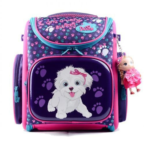 $85.51- Delune 2016 New European Children School Bag Girls Boys Backpack Cartoon Mochila Infantil Large Capacity Orthopedic Schoolbag