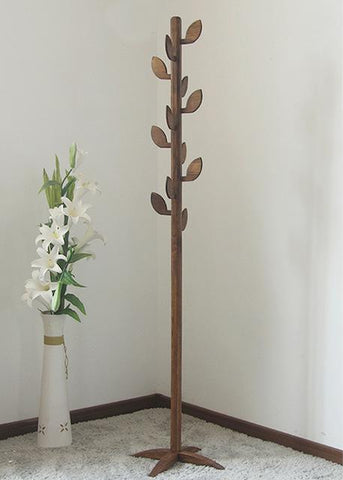 New Fashion 100% Oak tree coat rack Living room furniturewooden tree hanger Bedroom Floor hangers Clothes rack Indoor hanger