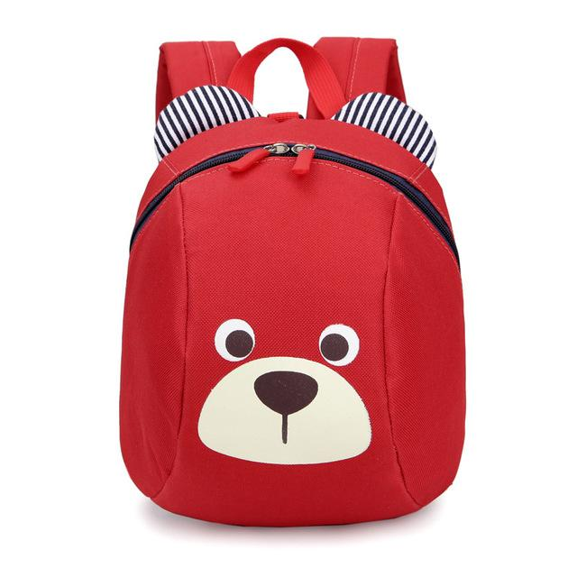 $18.13- Age 13 Toddler Backpack AntiLost Kids Baby Bag Cute Animal Dog Children Backpack Kindergarten Bear School Bag Mochila Escolar