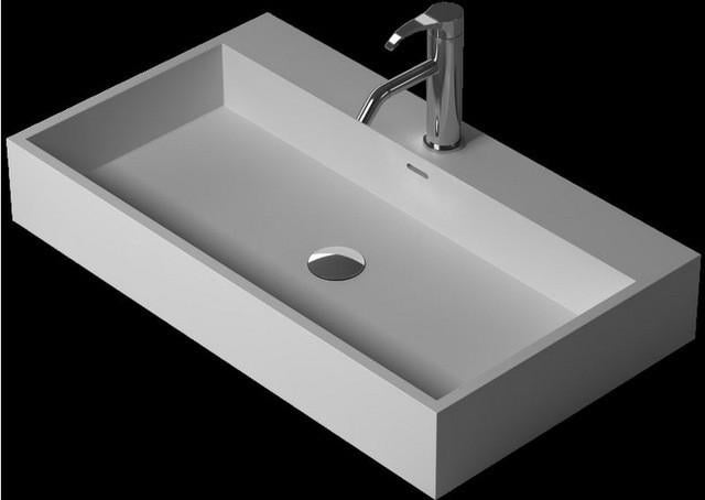 $803.60- Bathroom Corian UnderCounter Wash Sink Solid Surface Stone Wash Basin Artificial Stone Laundry Sink Rs38344