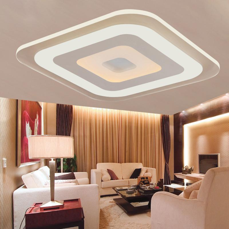 Buy Modern Acrylic Led Ceiling Light Fixture Living Room Bedroom - Where to buy kitchen lights