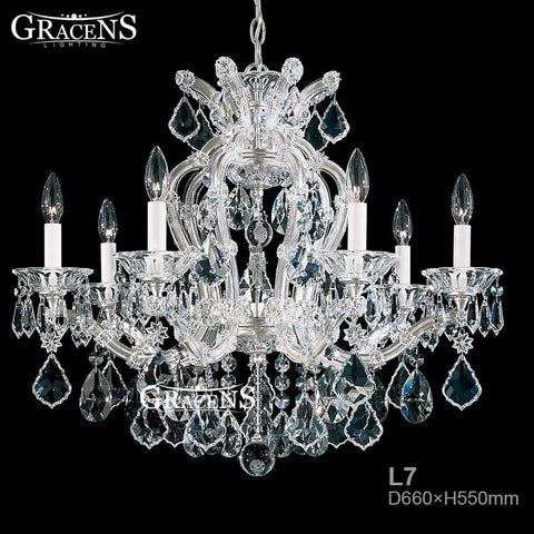 $593.93- Promotion s Crystal Chandelier Light Fixture Europe Industrial Style Glass Chandelier For Church For Home Dinner Lighting