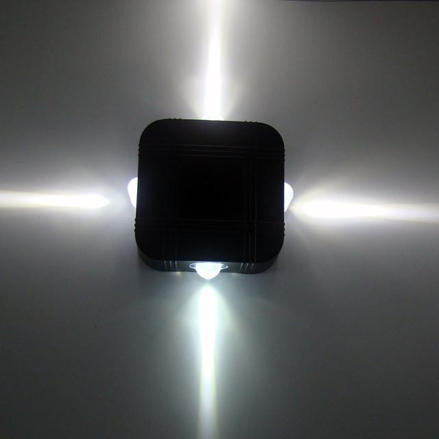 $71.66- Modern Led Outdoor Wall Lights Porch Light Waterproof Ip65 For Bathroom Garden Decoration 4 Beam Length 1M Wall Lamp 1163