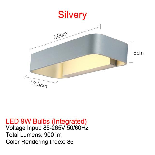 $313.19- Modern Led Wall Lamp For Bedroom Bathroom Art Sconces Lights Aluminum Wall Lighting Fixture d 100%