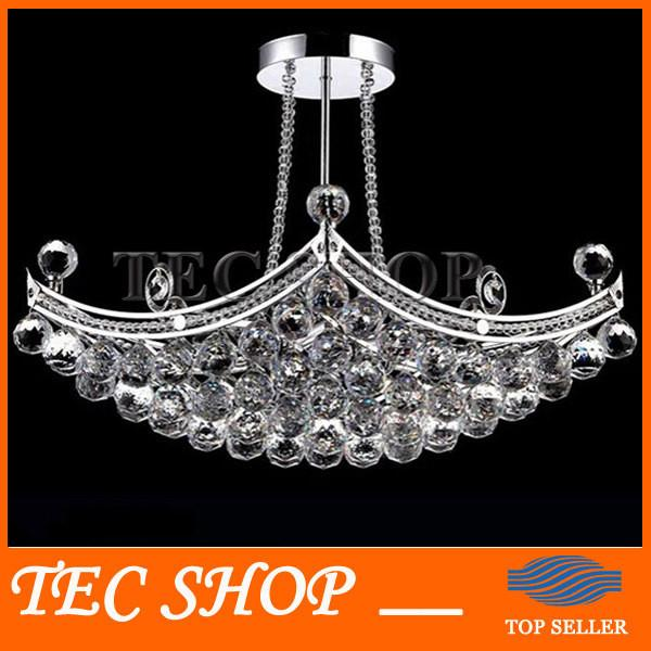 $381.48- Best Price Led K9 Crystal Chandeliers Crystal Fixture Hanging Lusters Lustres De Cristal Lustres E Pendentes Luxury Lamp