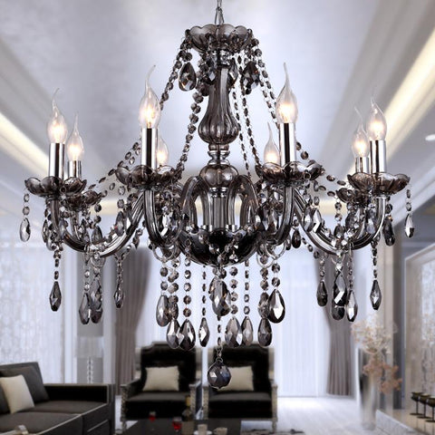 Modern Crystal Chandeliers Lighting Hanging Lights Contemporary Cristal Glass Chandelier Light For Home Hotel Restaurant Decor