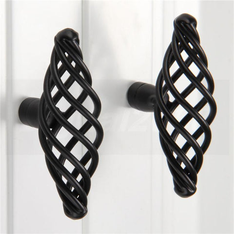 $5.06- 1 Pcs Knob Pull Handle Antique Bird Cage Cabinet Knobs Cupboard Dresser Drawer Door Pull Handles Modern Zinc Aolly